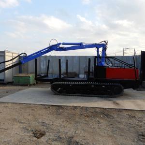 「即納・全塗装」魚谷鉄工所 AK-3 2002年車 低アワー 林業フォワーダー 最大積載2500kg クローラー運搬車 林業機械