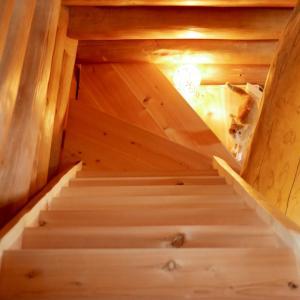 階段ができました