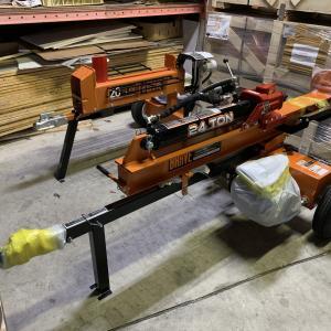 薪割り機を組み立てました