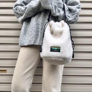 『オトナミューズ(2019年12月号)』の付録「L.L.Bean ボア巾着ポシェット」の使用感レビュー!付録とは思えない質の高さ。デザイン性・機能性ともにすごく優秀でおすすめです♪