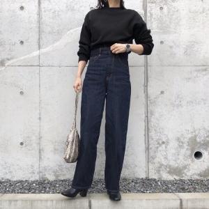GUの「コクーンシルエットジーンズ」の使用感レビュー!ゆったり感とすっきり感の両方を持ち合わせた独特のデザインが魅力。いつものコーデに変化をつけたいという方におすすめ♪