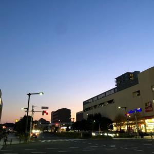 みなみ野の夕景
