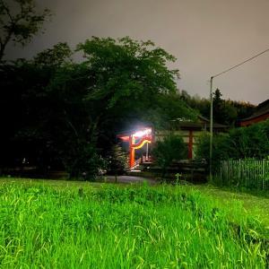 夜トレ六景~月が隠れた夜に想うこと~