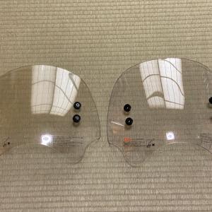 スーパーカブ110(JA07)~5年ぶりのショートバイザー交換♪~