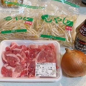 """自家製""""ジンギスカン風""""豚肉野菜炒め~まぁ。。。そんな感じですよ(笑)~"""