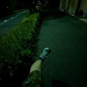 夜トレ四景~夜道にキーック!もうすぐ夏休み第1弾♪~
