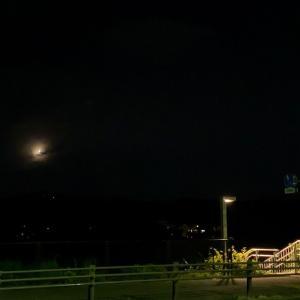 夜トレ一景~今夜も。。。歩いています~