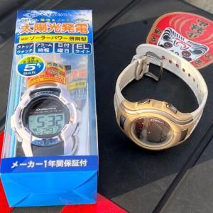 スーパーカブ110(JA07)~絶対条件!?白い腕時計の換装~