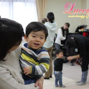 1歳児Sちゃんのお母さまから「娘がリトミックを楽しみにしています!」 姫路市灘市民センター教室