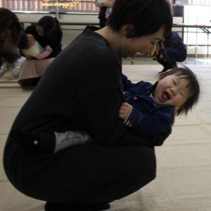 リトミック1歳児 「ぼくまたくるよ!」 ~姫路市安室東公民館教室~