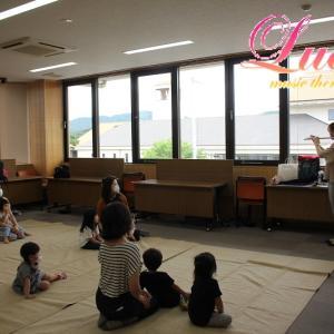 2020年もフルート&ピアノミニコンサート、リトミックレッスンにて行います!姫路市リトミック教室