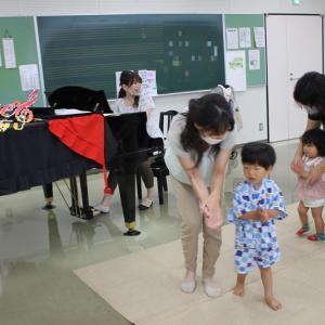 リトミックご感想 2歳児 広畑市民センター教室くまさんクラスTくんのお母さま 姫路リトミック教室