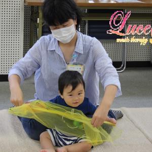 姫路市網干市民センター教室のリトミックレッスン♪ 朝から雨の中お越しいただきありがとうございます