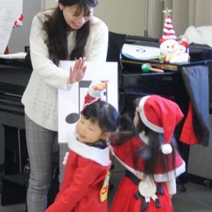 リトミックレッスンでクリスマス会・フルート&ピアノミニコンサートが始まります! 姫路駅前教室