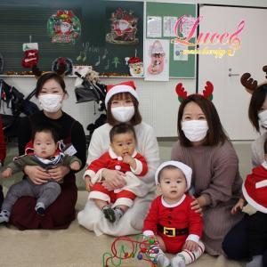 可愛いサンタさんがたくさん♡クリスマス会・フルート&ピアノコンサート!③姫路広畑市民センター教室