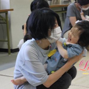 今日もご入会!生後5ヶ月・2歳7ヶ月Mちゃん 姫路市網干市民センター教室 ルーチェリトミック
