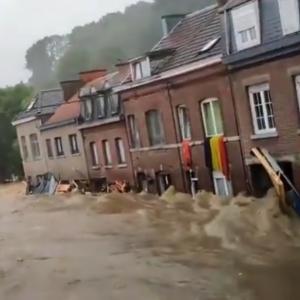 ドイツ、ベルギーは大洪水❗DSの掃討作戦⁉️