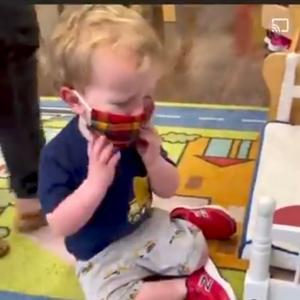 マスク強制は「児童虐待」です‼️