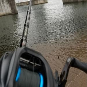 琵琶湖大橋下でキャスト