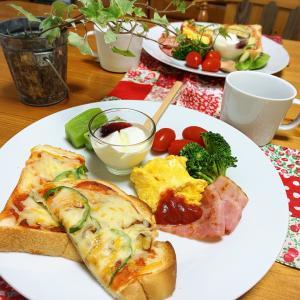 今日の朝ごはんとお弁当