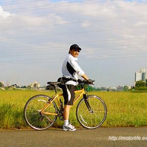 ロードバイク? ☆ 青空と海とオートバイ ♪