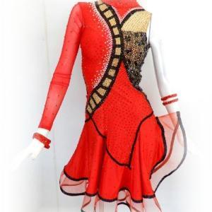 人気の正装ラテンドレス2
