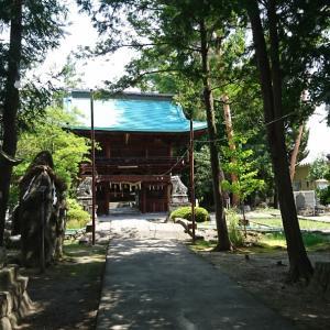 2020年の誕生日は・・・甲府市 住吉神社へ。