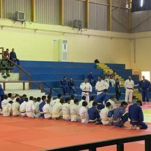 西アジア大会に向けて、柔道合同練習開催!