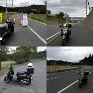 原付 TODAY 県内試走ソロツーリング 85km (エンジンOH後)