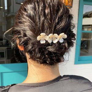 結婚式のヘアアレンジ