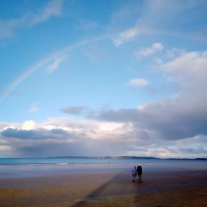 冬のニュージーランドは虹のシーズン