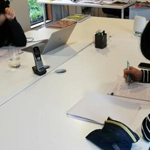 高校留学生向け、英語定期試験を実施しました