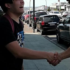 4年ぶりの再会! 高校留学をしていた生徒さんがNZに会いに来てくれました