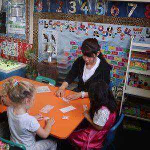 日本の大学生がニュージーランドで保育実習! 子供がすることはすべてが学び