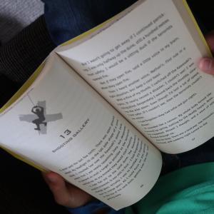 冒険好きの男の子にオススメ! NZの小説家のシリーズ