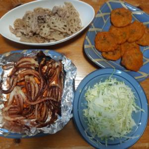 チヂミの夕食