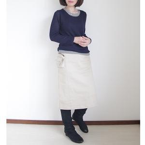 身軽に出かける立体ポケット付きスカート。