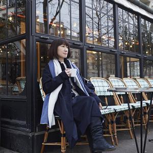 買い付け日記:カフェに似合う YOSHI KONDOのネイビースタイル。