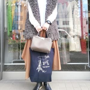 名古屋POP-UPストア モコジレで&デッシのバッグでお洒落カジュアル