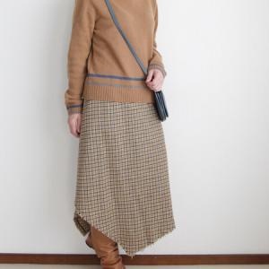 TSUNODAのボヘミアン風スカートを品よく着るには