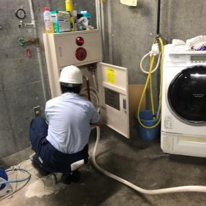地元の消防訓練(7月16日)