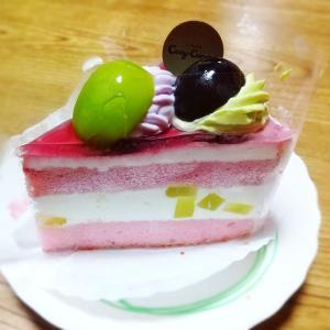 久方振りのケーキ