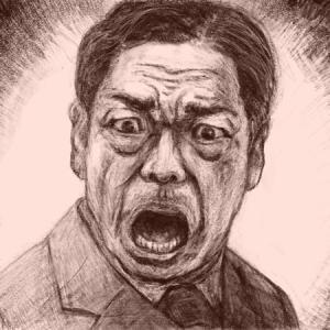 """""""半沢直樹""""の大和田を描いてみて"""