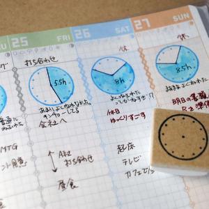 直径を選べる時間軸のはんこ