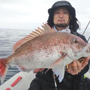 新年初釣りはかわたろー丸で真鯛ジギング
