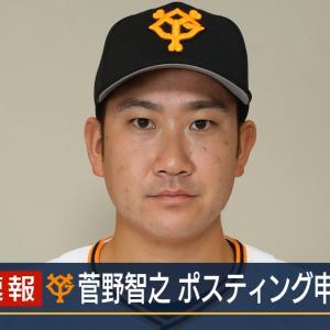 巨人菅野、ポスティング申請!←カープファンの感想
