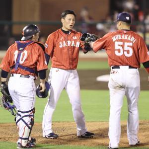 侍Jの勝ちパはカープ栗林(守護神)、西武平良(8回) 稲葉監督「7、8、9回の難しいところは専門職で」