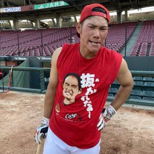 カープ坂倉将吾(23).324 4本 出塁率.403 OPS.851←この捕手&一塁手の完成系
