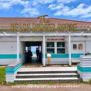 キラキラ海を眺めながら美味しいバーガーを★The BEACH BURGER HOUSE