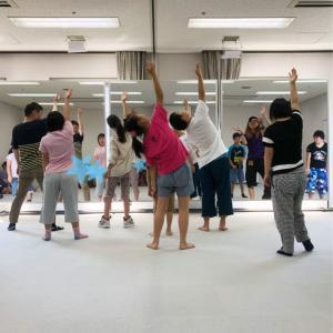 ダウン症ダンスサークルハピネスがクラス分けします^^